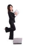 Überzeugtes Geschäfts-Mädchen    stockbilder