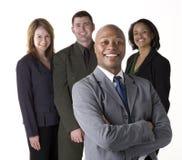 Überzeugtes Geschäfts-Team Lizenzfreie Stockfotografie
