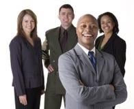 Überzeugtes Geschäfts-Team Stockfotos