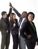 Überzeugtes Geschäfts-Team Stockfoto