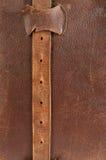 Überziehen Sie Band mit Leder. Lizenzfreies Stockfoto