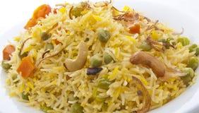 Überziehen Sie voll vom Reis Stockfoto