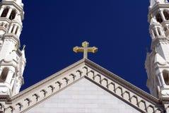 Überziehschutzanlage. Peter-und Paul-Kirche Lizenzfreie Stockfotografie