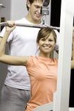 Übung im Gesundheitsklumpen Stockfoto