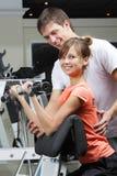 Übung im Gesundheitsklumpen Stockfotos