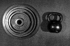 Übungs-Ausrüstung Stockfoto