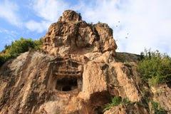 Ünye Castle (Turkey) Stock Images