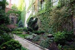 Üppiger Boston-Garten Lizenzfreie Stockfotografie