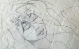 Üppiges Haar vektor abbildung