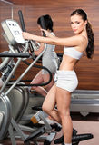 ćwiczenia centrum gym fotografia stock