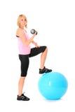 ćwiczenia ramię Fotografia Royalty Free