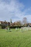 Ćwiczenia wyposażenie na Village Green Zdjęcie Royalty Free