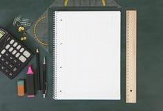 Ćwiczenie książki Mathematics Obrazy Stock