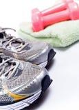 ćwiczenie przygotowywający butów sport Zdjęcie Royalty Free
