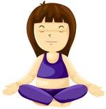 ćwiczyć dziewczyny joga Zdjęcie Stock