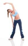 ćwiczyć kobiet potomstwa Zdjęcie Stock