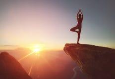 ćwiczyć kobiety joga Obraz Stock