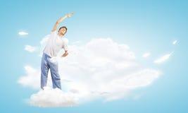 ćwiczyć lato indyka joga Zdjęcia Stock