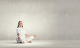 ćwiczyć lato indyka joga Zdjęcie Royalty Free