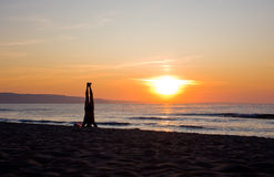 ćwiczyć mężczyzna joga Zdjęcia Stock