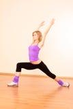 ćwiczy sprawność fizyczną Zdjęcie Royalty Free