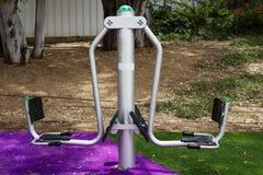 Ćwiczy wyposażenie w jawnym parku w Rishon Le Zion, Izrael Obrazy Royalty Free