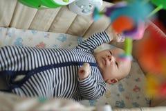 łóżeczka dziecka Zdjęcie Stock
