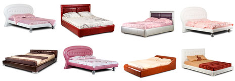 łóżka inkasowi Zdjęcie Stock