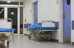 łóżka szpitalni Obraz Stock
