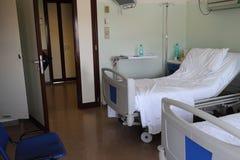 Łóżka w sala szpitalnej Zdjęcia Royalty Free