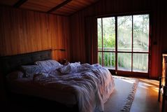 łóżko obraz stock