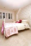 łóżko girly Zdjęcia Stock