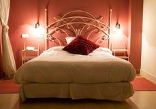 Łóżko zdjęcie royalty free