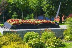 Łóżko kwiaty Obrazy Royalty Free