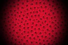 Łóżko róże Zdjęcia Royalty Free