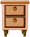 Łóżko stojak royalty ilustracja