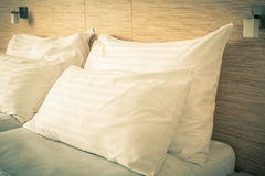 Łóżko w Pokój hotelowy Obraz Stock