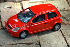 łóżkowa chłopiec samochodu zabawka Obraz Royalty Free