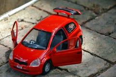 łóżkowa chłopiec samochodu zabawka Zdjęcie Royalty Free