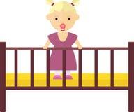 łóżkowa dziewczyna Obraz Stock
