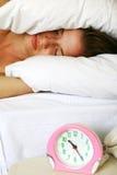 łóżkowa kobieta Zdjęcia Royalty Free