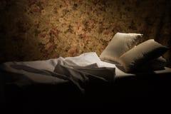 łóżkowa luksusowa upaćkana poduszka Obrazy Stock