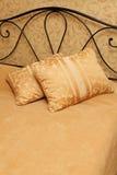 łóżkowe poduszki Obraz Royalty Free