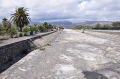 łóżkowi Canaria wysuszeni gran maspalomas rzeczni Fotografia Stock