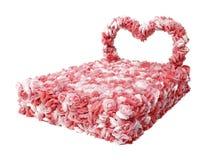 łóżkowi kwiaty Obraz Royalty Free