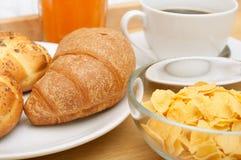 łóżkowy śniadanie zdjęcie royalty free