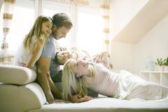 łóżkowy bawić się dom rodzinny wizerunku jpg wektor Zdjęcia Stock