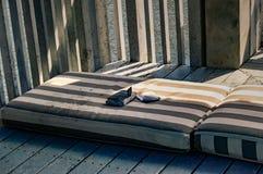 łóżkowy bezdomny obraz royalty free