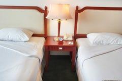 łóżkowy bliźniak obraz stock
