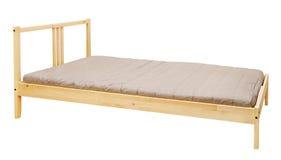 łóżkowy drewniany zdjęcie royalty free